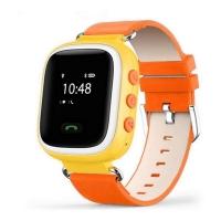 Умные детские смарт-часы Q60 (LBS-трекер) Orange