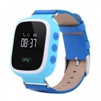 Умные детские смарт-часы Q60 (LBS-трекер) Blue