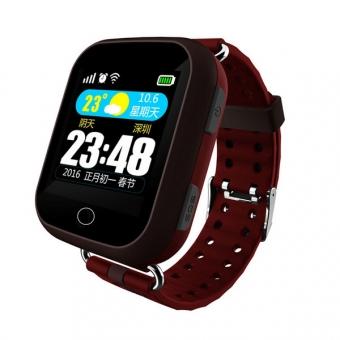 Смарт-часы Wise G601GM2 для пожилых людей с GPS, SOS Brown
