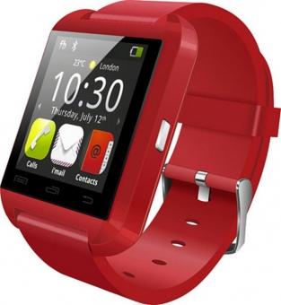 Умные смарт-часы Wise U8, часы-компаньон Red