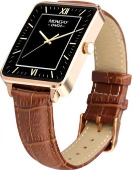 Умные смарт-часы Wise WG-SW056, часы-компаньон gold
